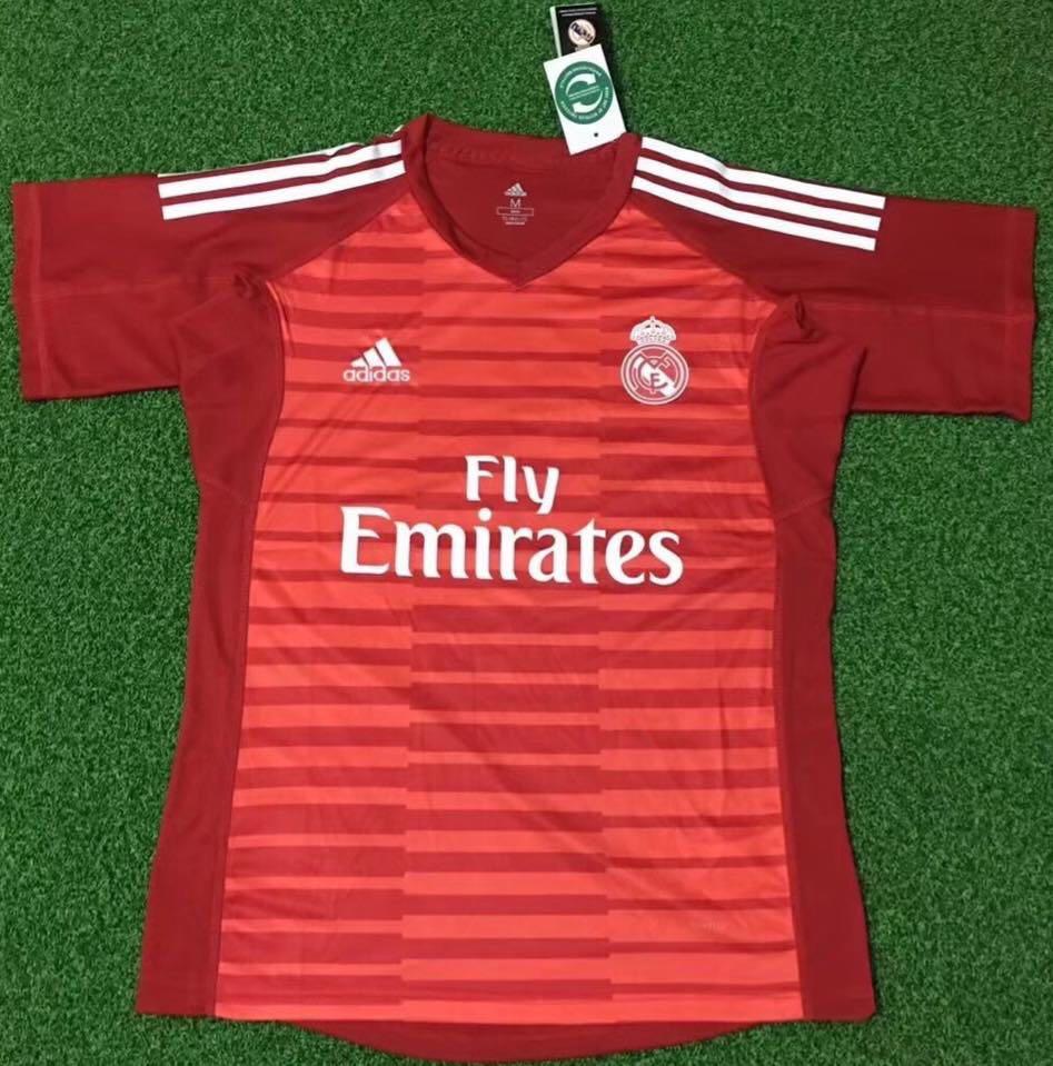 timeless design 706a7 3e293 18/19 Real Madrid goalkeeper kits
