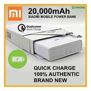 XiaoMi Power Bank 20,000 mAh Portable Charger Battery 20000