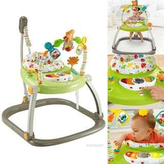 [IN STOCK] Fisher Price Jumperoo (Woodland Friends)