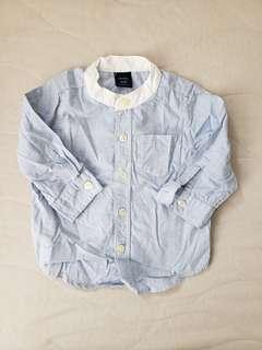 Baby Gap 男仔恤衫 6-12m