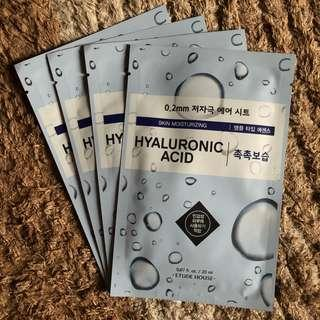[Hyaluronic Acid] Etude 0.2mm Air Therapy Sheet Mask