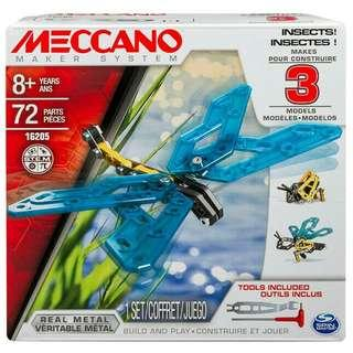 Meccano 3 model set insects