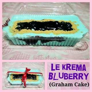 Le Krema (Graham Cake) Blueberry