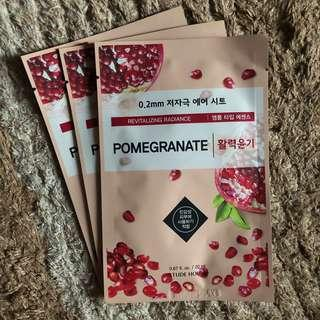 [Pomegranate] Etude 0.2mm Air Therapy Sheet Mask