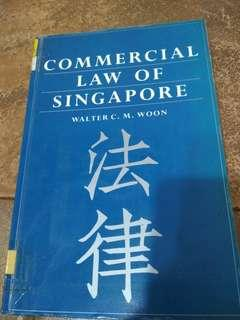 Commercial Law of Singapore by Walter C. M. Woon