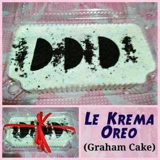Le Krema (Graham Cake) Oreo