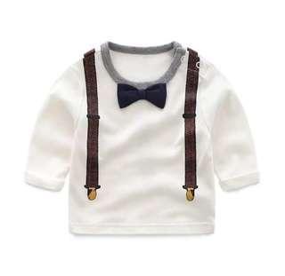 🚚 【BABYWEAR】【CLOTHING】【BOY】PCT00011 BABY CHILDREN BOY LONG SLEEVES TOP