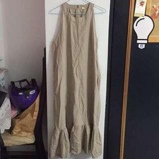 🚚 杏色魚尾裙