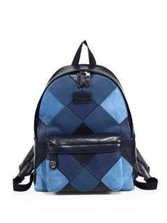 Coach patchwork backpack