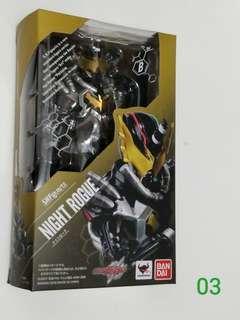S.H.Figuarts Kamen Rider Night Rogue 未開