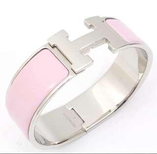AUTHENTIC HERMES Clic Clac H Bracelet