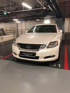 Lexus 3L V6 for wedding car rental