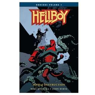 Hellboy Omnibus Collection Volumes 1 to 4