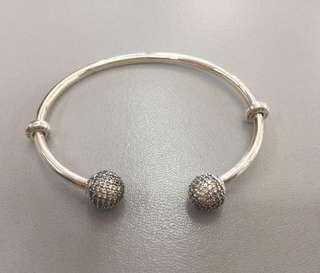 Pandora Open Bangle Silver