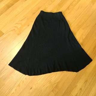 黑色長裙 long skirt