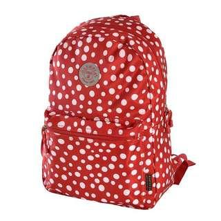 Olympia US Cornell Polka-dot Backpack