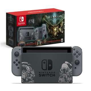 Nintendo Switch Diablo III Limited Edition Console (Export Set)