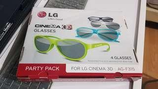Cinema 3D Glasses LG 4 Glasses