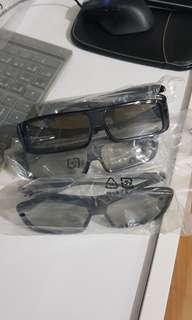 3D cinema glasses ( 4 pcs )