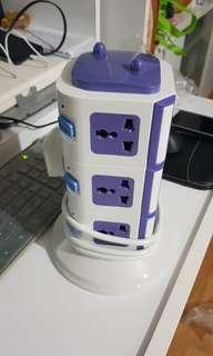 12 sockets international multi plug sockets