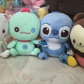 🚚 Stitch scrump Disney Sega Soft Toy