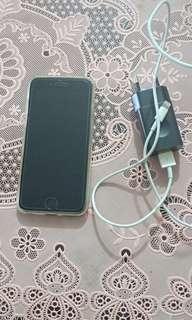 I phone 6 64gb silver.