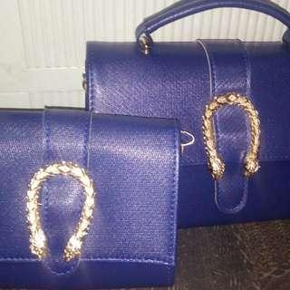 Ladies bag with purse
