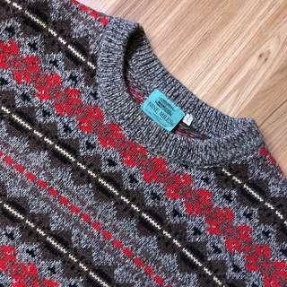 🚚 🇺🇸【MOSAIC VINT】手工羊毛美國文青hipster古著毛衣