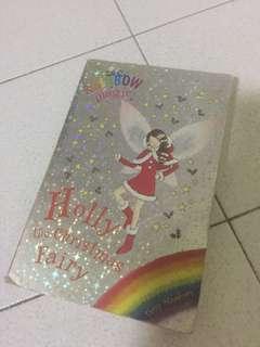 Rainbow fairies holly the Christmas fairy
