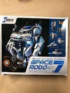 Space Robo assembly figurine