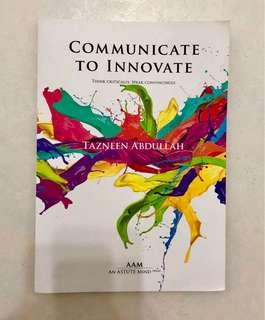 AAM Communicate To Innovate by Tazneen Abdullah