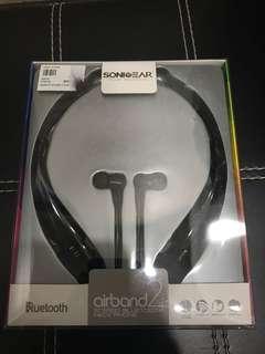 SonicEar airband2 Bluetooth neck phone