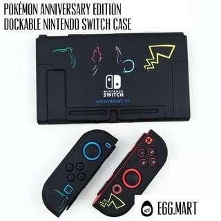 🚚 Pokémon anniversary Nintendo switch case