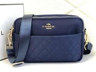Coach Nylon 2 Ruang Quilted