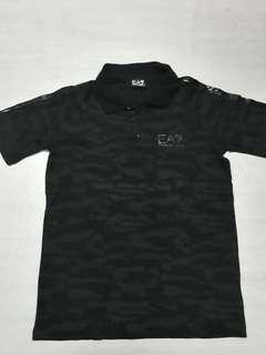 Emporio Armani Camo Polo Shirt no champion adidas nike bape