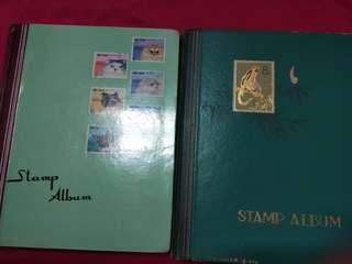 Antique stamps world's collection