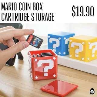 🚚 Nintendo Switch Cartridge Case Super mario