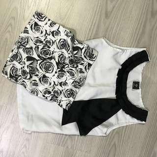 Mini skirt n top