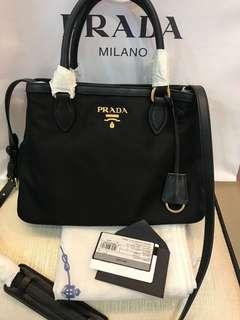 New Prada with receipt Nylon Bag Original unit