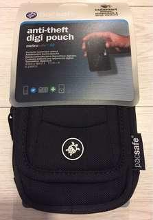 全新 pacsafe 黑色 防盜相機包 腰包 適用於 手提電話 相機等