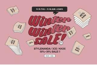 STYLENANDA // 3CE Winter Sale