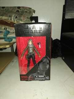STAR WARS THE BLACK SERIES (SERGEANT JYN ERSO- JEDHA)