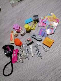 Random Barbie Doll Accessories