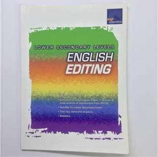 Lower Secondary Levels English Editing