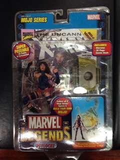 Marvel Legends Mojo Series Psylocke Action Figure MOC