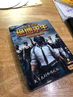 PUBG cards in Chinese
