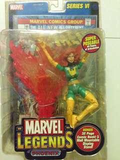 MOC Marvel Legends Series VI/Wave 6 Phoenix Jean Grey Marvel Girl action figure