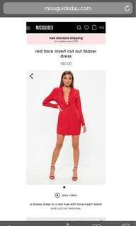 Misguided Blazer Dress