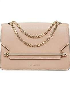 Strathberry East/West bag in nude