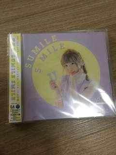 Aya Uchida 1st Single Sumile Smile First Press Release Editon w/DVD Limited Edition